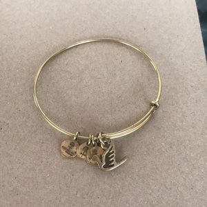 Alex and Ani dove bracelet